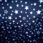 двунитка звезды синие