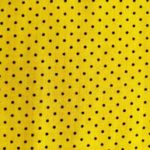 штапель желтый горох