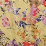 штапель цветы желт